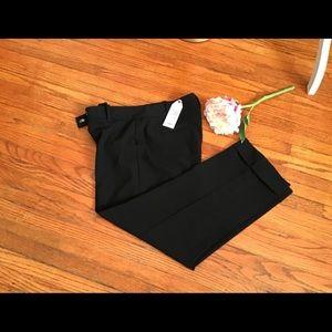 Pants - NWT M.S.S.P. Black ankles pants size 8